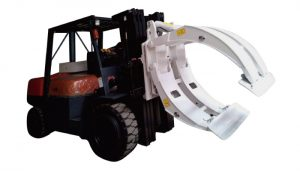 Προσάρτημα ανυψωτικών οχημάτων 360 Περιστροφή μονάδων βραχίονα ρολού χαρτιού