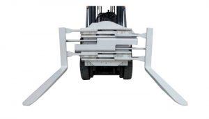 2.2 τόνων μη οριζόντιας μετατόπισης σφιγκτήρες περονών για περονοφόρο ανυψωτήρα