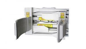 Forklfit Attachment Ατσάλινο άσπρο 55 Gallon Περονοφόρο άγκιστρο