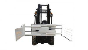 Αποτελεσματική υδραυλική περιστρεφόμενη σφαίρα φιαλών για περονοφόρο όχημα