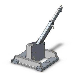 Μηχανικός ανυψωτικός γερανός γερανού σταθερής βάσης
