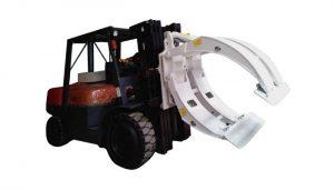 Εξοπλισμός χειρισμού υλικών Σφιγκτήρας ρολού χαρτιού περονοφόρου